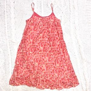 Gap airy happy summer dress mid calf length M 8